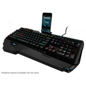 Teclado Logitech G910 Orion Spark Mechanical RGB