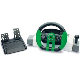 Volante Dazz Turbo GT Xbox 360 Com Force Feedback 622132
