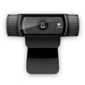 #PROMOÇÃO# WebCam Logitech Pro HD 15MP Full HD 1080p C920