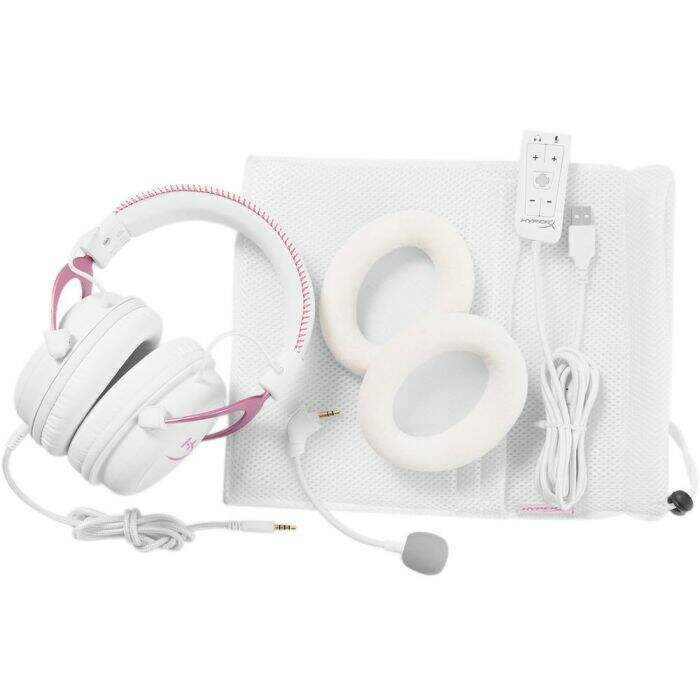 Fone Kingston HyperX Cloud II USB 7.1 Pink KHX-HSCP-PK