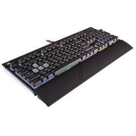 Teclado Corsair Gaming Strafe RGB Cherry Red - CH-9000227-NA