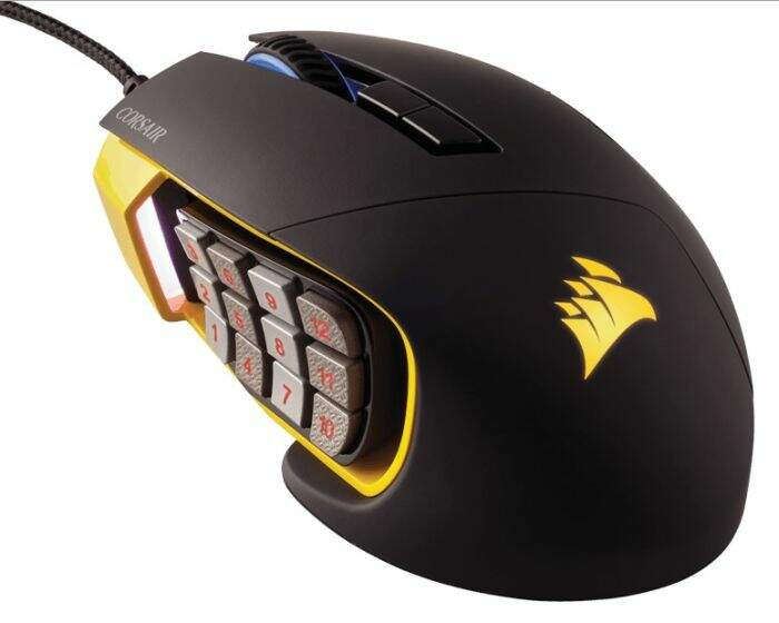 Mouse Corsair Gaming Scimitar MMO RGB Optical 12000 DPI CH-9000091-NA