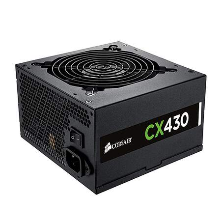 Fonte Corsair ATX CX430 430W Reais 80 Plus Bronze - CP-9020046-WW