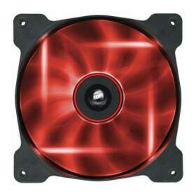 Cooler FAN Corsair de 120mm Air Séries AF120 Quiet Edition com LED Vermelho - CO-9050015-RLED