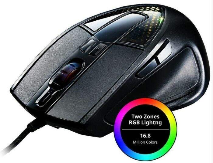 Mouse CoolerMaster Storm Sentinel III 6400dpi Sgm-6020-klow1