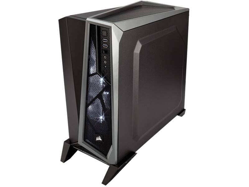 Gabinete Gamer Corsair Carbide Spec Alpha CC-9011084-WW Black/Silver