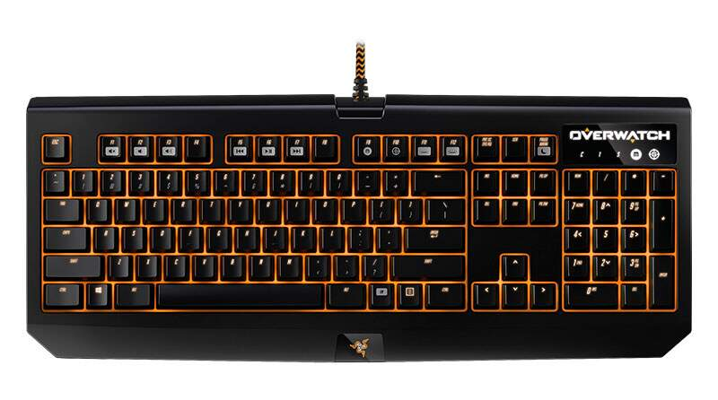 Teclado Razer BlackWidow CHROMA Overwatch Edition