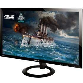Monitor Asus LED 24´ Gamer Full HD, Ultra Slim, Flicker Free, 1ms, 2 HDMI, Alto Contraste e auto-falante integrado, Gaming Mode - VX248H