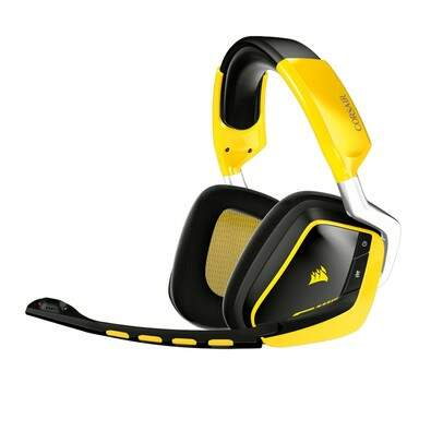 Fone Corsair Gaming Void Wireless RGB Dolby 7.1 Yellowjacket Limited Edition - CA-9011132-NA