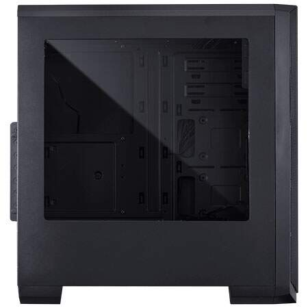 Gabinete PCYes Knight Fan Led Verde c/ Lateral Acrílico - KNIPTOVD3FCA