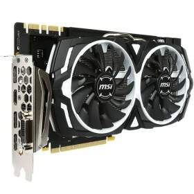 Placa de Vídeo VGA MSI GeForce GTX 1080 Armor 8GB