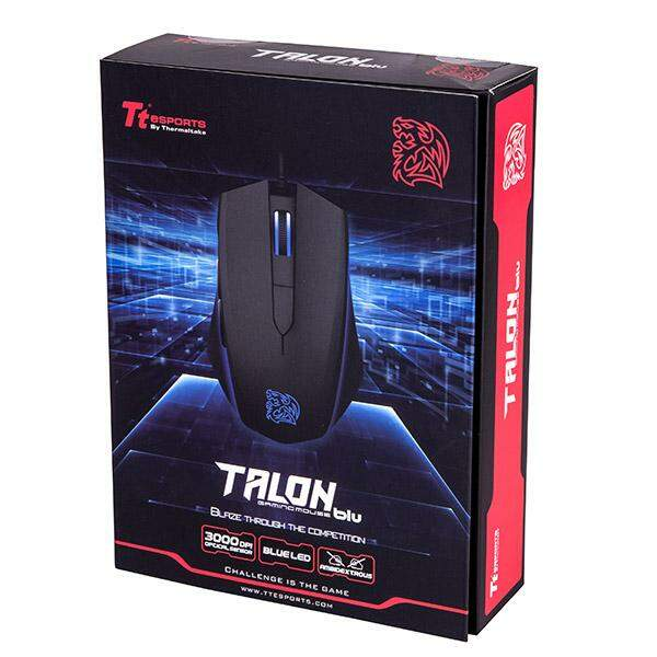 Mouse Thermaltake eSPORTS Talon Black Optical MO-TLB-WDOOBK-01