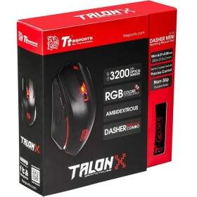 # BLACK NOVEMBER # Combo Thermaltake eSPORTS Talon X Black 3200dpi MO-CPC-WDOOBK-01