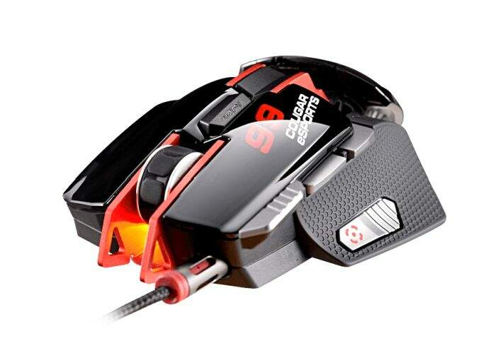 Mouse Cougar Gamer 700M 8200dpi E-Sports Red