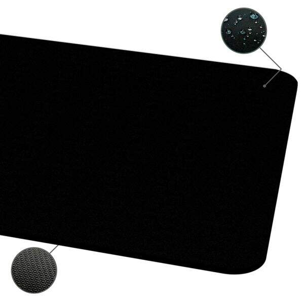 MousePad Rise Gaming Black Grande Bordas Costuradas - RG-MP-05-FBK