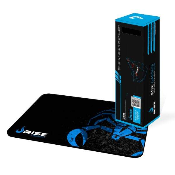 # BLACK NOVEMBER # MousePad Rise Gaming Scorpion Grande Bordas Costuradas - RG-MP-05-SK