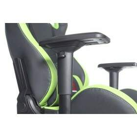 Cadeira Gamer DT3 Sports Onix Diamond Black Green 10591-6