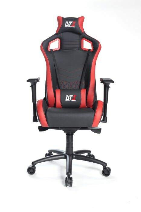 Cadeira Gamer DT3 Sports Onix Diamond Black Red 10593-8
