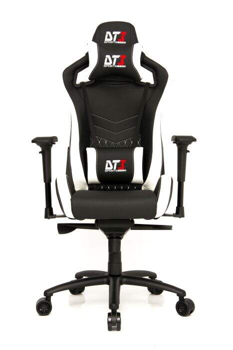 Cadeira Gamer DT3 Sports Onix Diamond Black Carbon White 10372-3