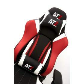 Cadeira Gamer DT3 Sports Prime Black Red White 10373-4