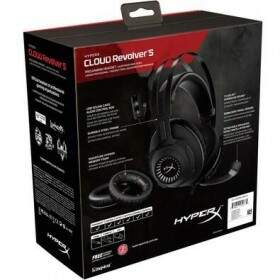 # ESPECIAL NATAL # Fone Kingston HyperX Cloud Revolver S 7.1 Dolby Digital - HX-HSCRS-GM/LA