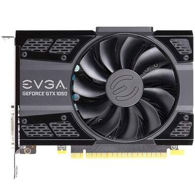 Placa de Vídeo VGA EVGA GeForce GTX 1050 Ti SC Gaming 4G - 04G-P4-6253-KR