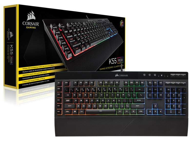 # BLACK NOVEMBER # Teclado Corsair Gaming K55 RGB - CH-9206015-BR