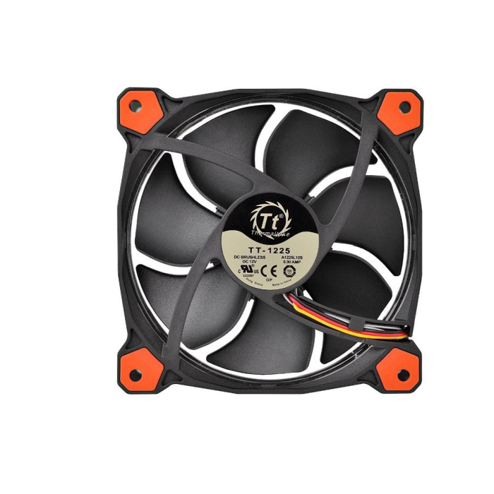 Cooler FAN Thermaltake Riing 14 Fan Led Red 1500RPM CL-F039-PL14RE-A