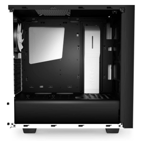 Gabinete NZXT Mid-Tower S340 Branco Lateral em Acrílico CA-S340W-W1