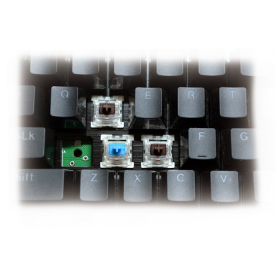 Teclado Gamer Mecânico Redragon Devarajas K556 RGB Switch Brown
