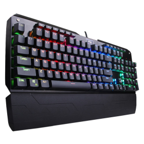 Teclado Gamer Redragon Mecânico Indra K555 RGB Switch Blue