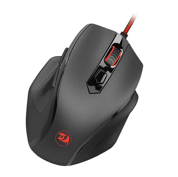 Mouse Gamer Redragon Tiger 10000dpi c/ Led RGB M709
