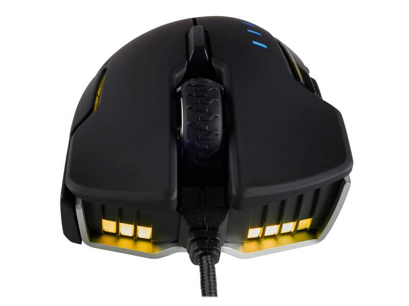 # BLACK NOVEMBER # Mouse Corsair Gaming Glaive RGB Optico 16000dpi Aluminio - CH-9302111-NA