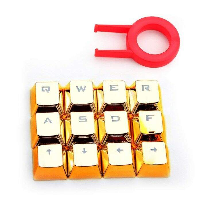Kit de Teclas Gamer Redragon Golden Keycaps - A103G