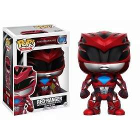 Boneco Funko Pop - Power Rangers - Ranger Red - 400