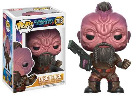 Boneco Funko Pop - Guardians Of The Galaxy 2 - Taserface - 206