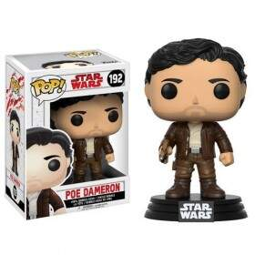 Boneco Funko Pop - Star Wars The Last Jedi - Poe Dameron - 192