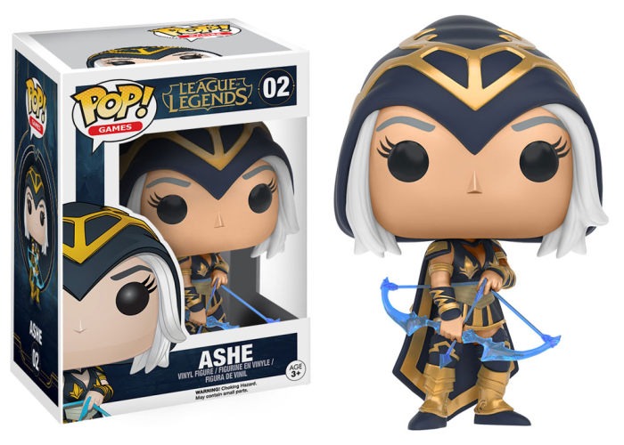 Boneco Funko Pop - League Of Legends - Ashe - 02