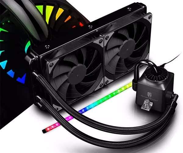 # BLACK NOVEMBER # Watercooler Deepcool Captain 240EX RGB c/ Fita Led DP-GS-H12L-CT240RGB