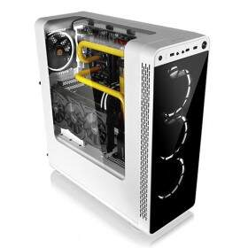 Gabinete Thermaltake View 27 Snow c/ 4x Fan Riing 12 Branco - CA-1G7-00M6WN-WT - BOX