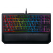 Teclado Razer BlackWidow Tournament Chroma V2 Switch Yellow c/ Apoio Pulso