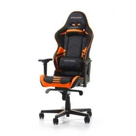 Cadeira DXRACER R-Series Black/Orange - OH/RV131/NO
