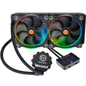 # PROMOÇÃO DE FÉRIAS # WaterCooler Thermaltake 3.0 Riing RGB 280 All In One LCS - CL-W138-PL14SW-A