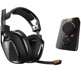 Fone Gamer Astro A40 TR Headset + Mixamp PRO TR Black Edition - PC, PS4, MAC, SWITCH