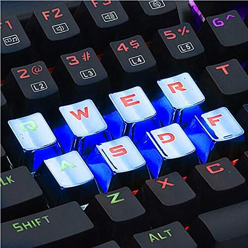 Kit de Teclas Gamer Redragon Blue Keycaps - A103B