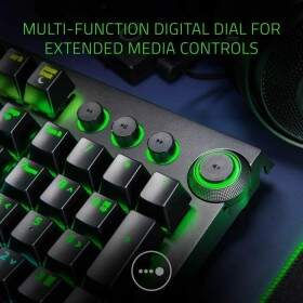 Teclado Razer BlackWidow ELITE Switch Green c/ Apoio Pulso