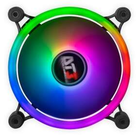 Kit Fans DT3 Sports SL120 Trio - 3x Fan 120mm RGB Ring + Fita de Led