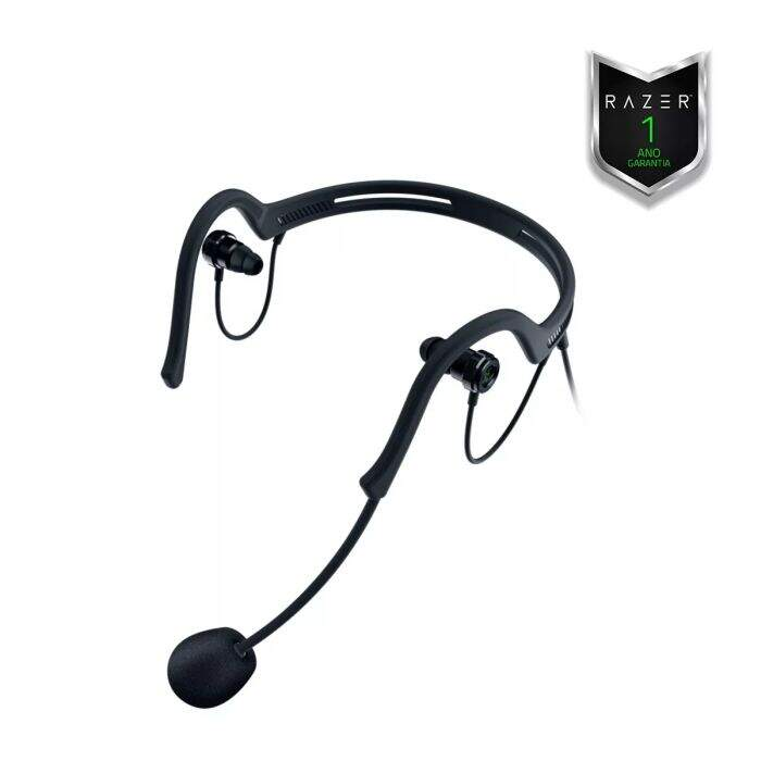 Fone Razer Ifrit Streaming Headset e Razer Audio Enhancer