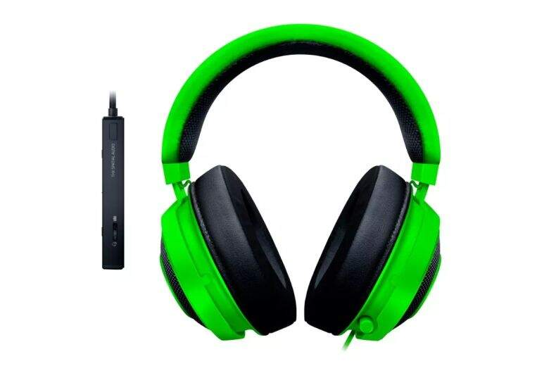 # BLACK NOVEMBER # Fone Razer Kraken Tournament Green USB THX Spatial Audio