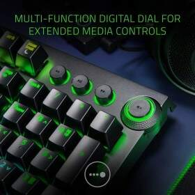 Teclado Razer BlackWidow ELITE Switch Yellow c/ Apoio Pulso